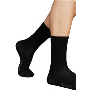Diabetic Ankle Sock Black